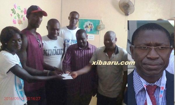 Le président Mamina Kamara sauve l'équipe de basket de Bignona d'une humiliation...