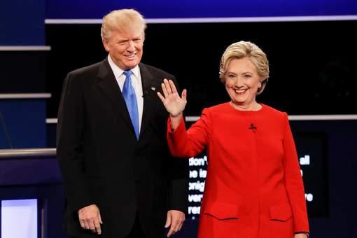 Victoire aux points pour Hillary Clinton, Donald Trump sur la défensive