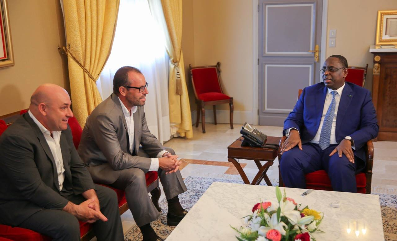 Le Président de la République, Macky Sall reçoit l'ancien président du Fc Barcelone