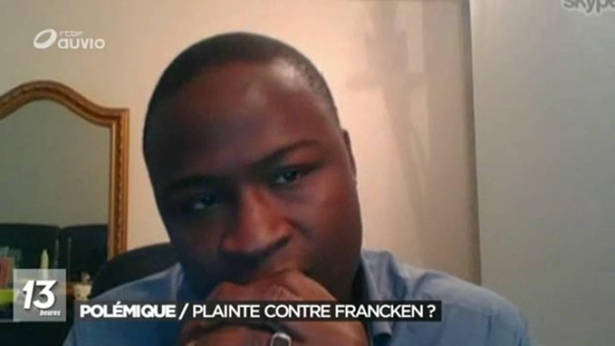 """Le Sénégalais """"expulsé"""" dans le GIF polémique va porter plainte contre Theo Francken"""