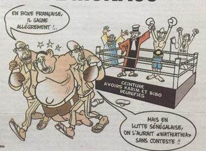 Karim gagne en boxe française après avoir perdu en lutte wathiathia ! - Par Odia