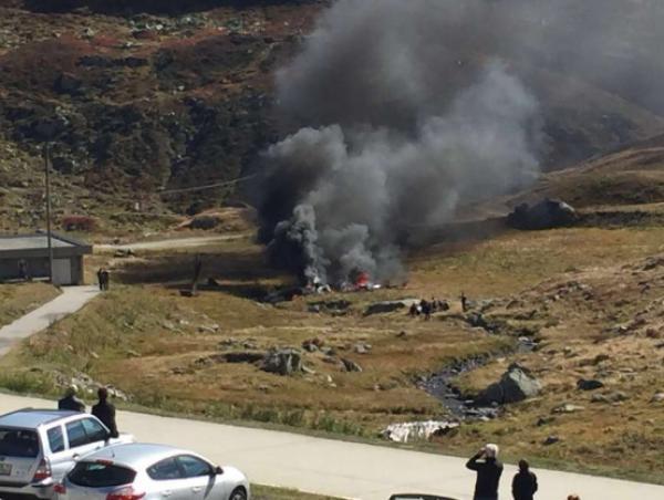 Crash d'un hélicoptère de l'armée suisse au Gothard : les deux pilotes sont morts