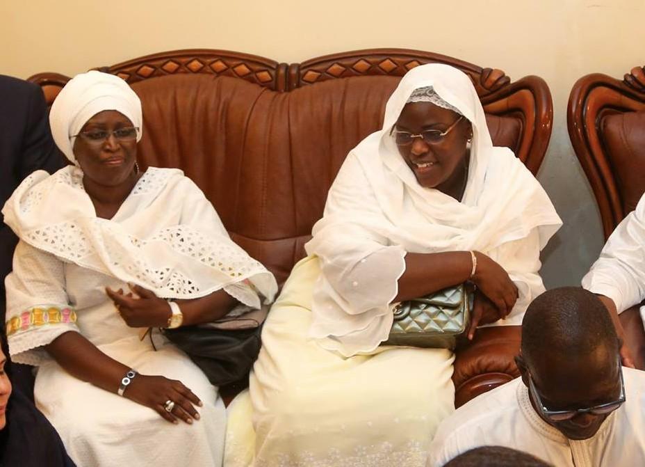 Condoléances : Marième Faye Sall chez la famille de Mamadou Dia