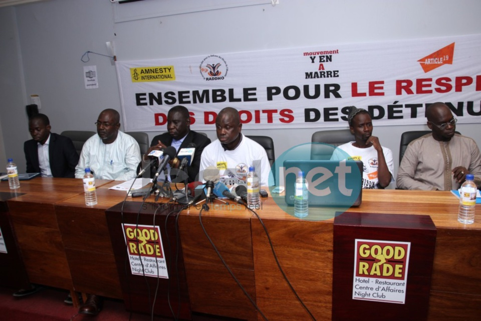 Les mouvements de l'organisation de la société civile du Sénégal se donnent la main pour le respect des droits des détenus