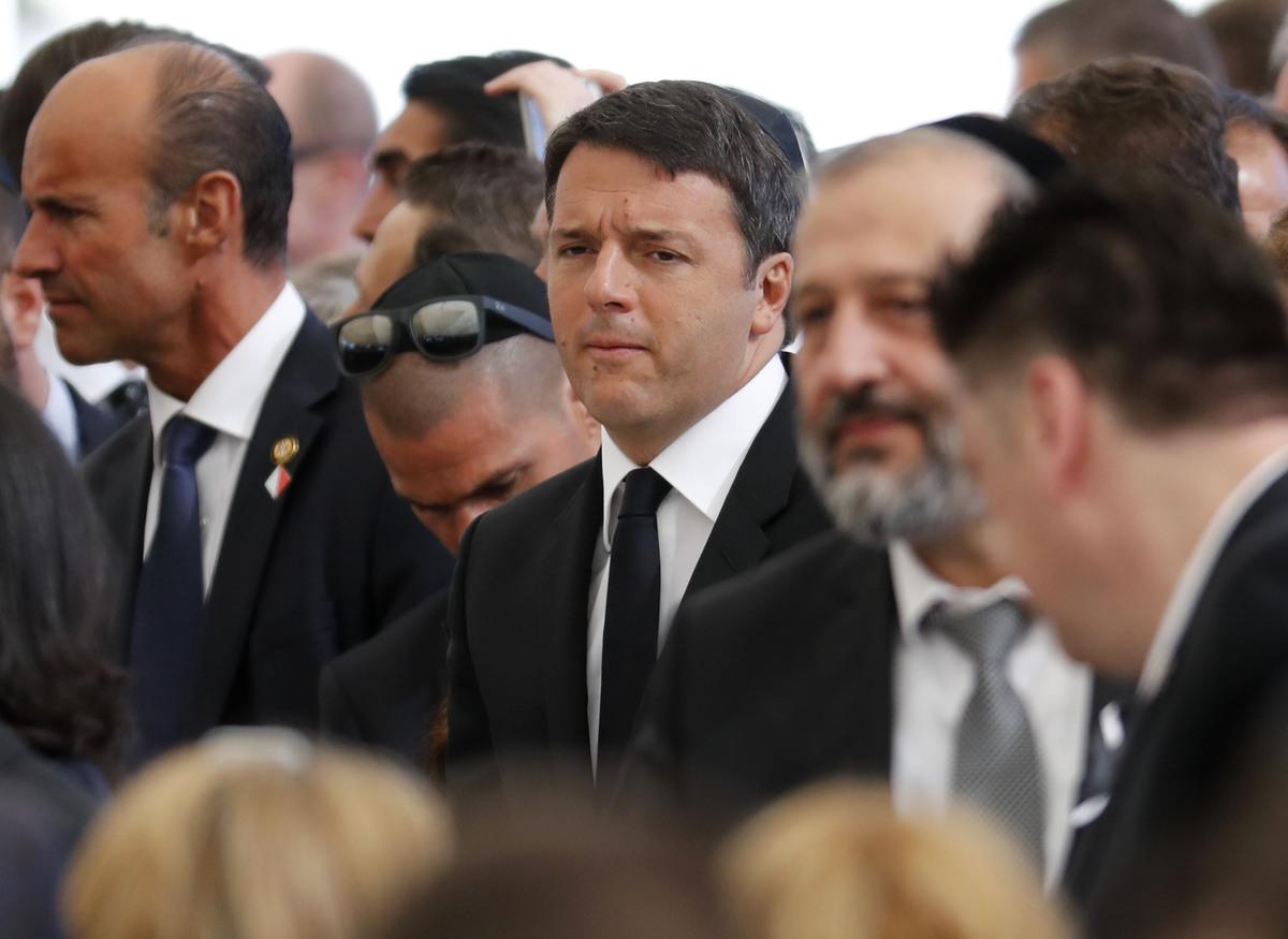Le président du Conseil italien Matteo Renzi