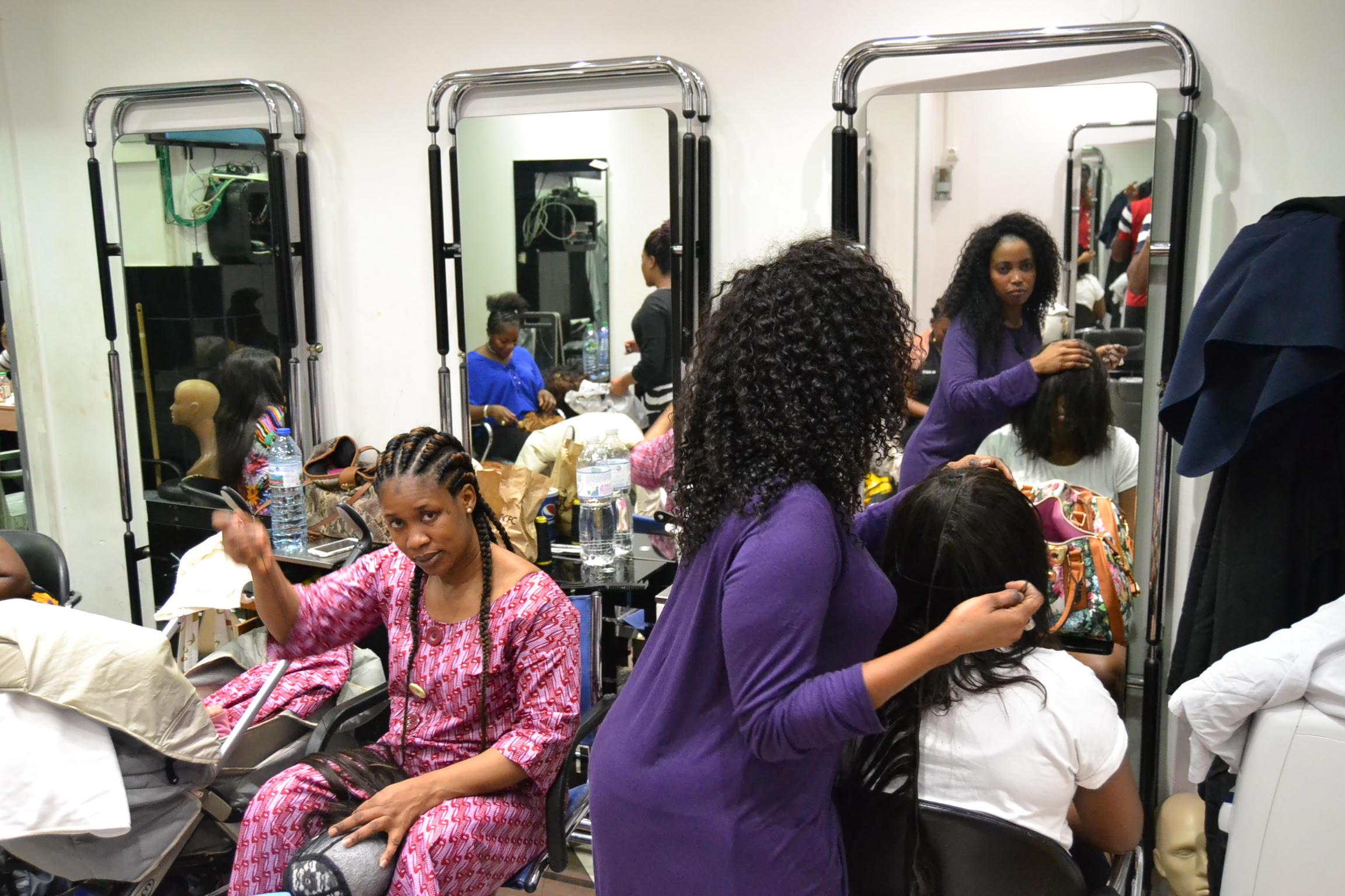 Tacco affro coiffure le salon des stars de paris for Salon de coiffure paris 13
