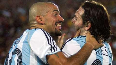 """Juan Sebastian Veron voulait """"tuer Lionel Messi"""" en 2009"""