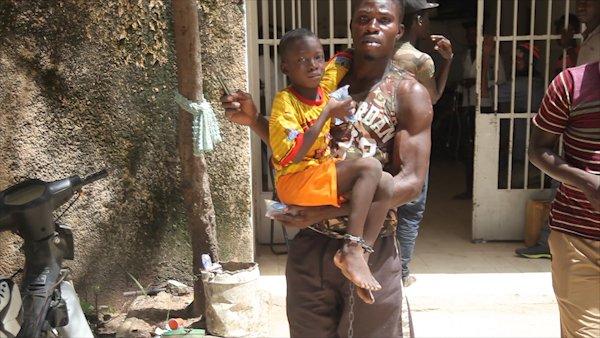 Un enfant enlevé et enchaîné avec un cadenas, découvert ce matin à Thies