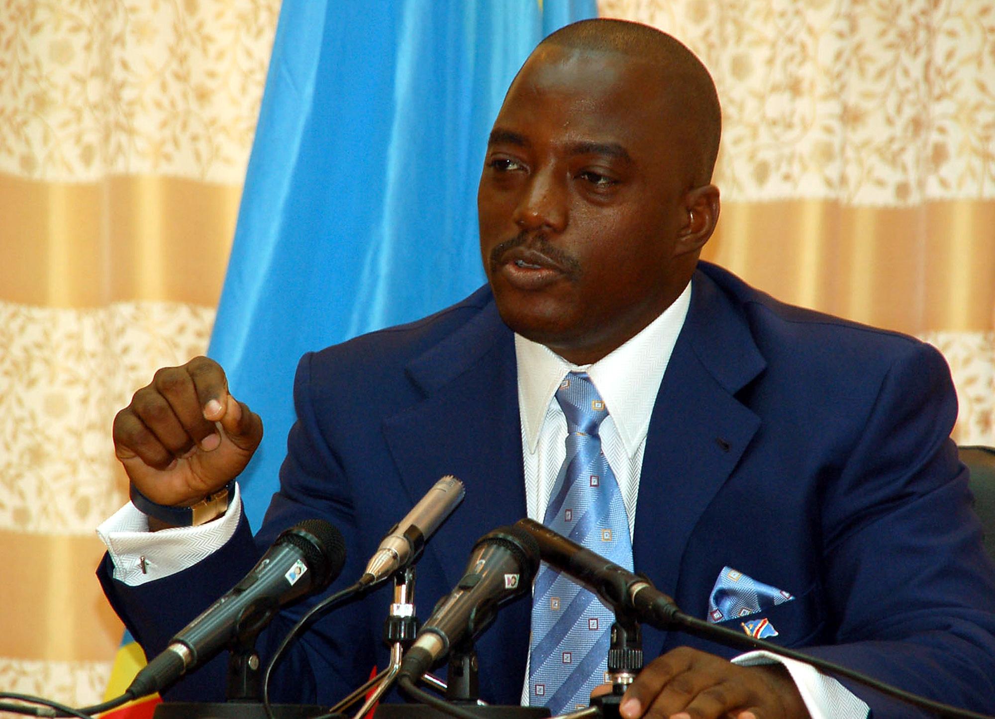 Joseph Désiré Kabila, le Président de la RD Congo