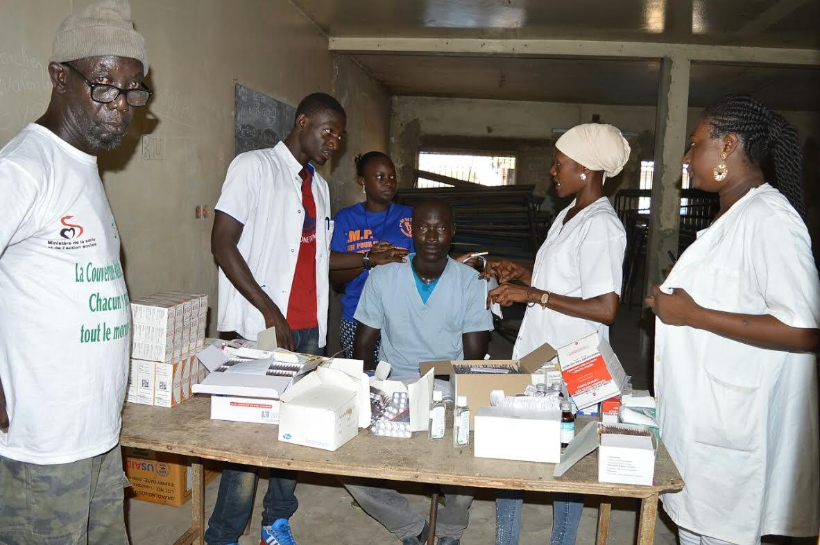 Parcelles Assainies : Près de 700 patients consultés