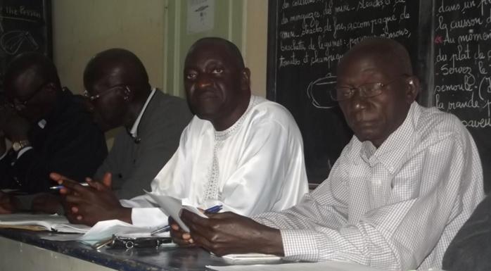 Arrivée du maire de Ngor à l'APR