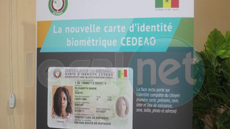 Suivez en direct le lancement officiel de la nouvelle carte d'identité biométrique sur Leral.net