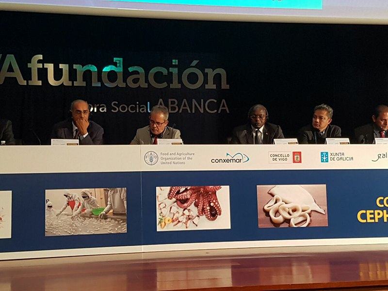 Congrès international sur les céphalopodes à Vigo : La promotion du « label Sénégal » en Espagne