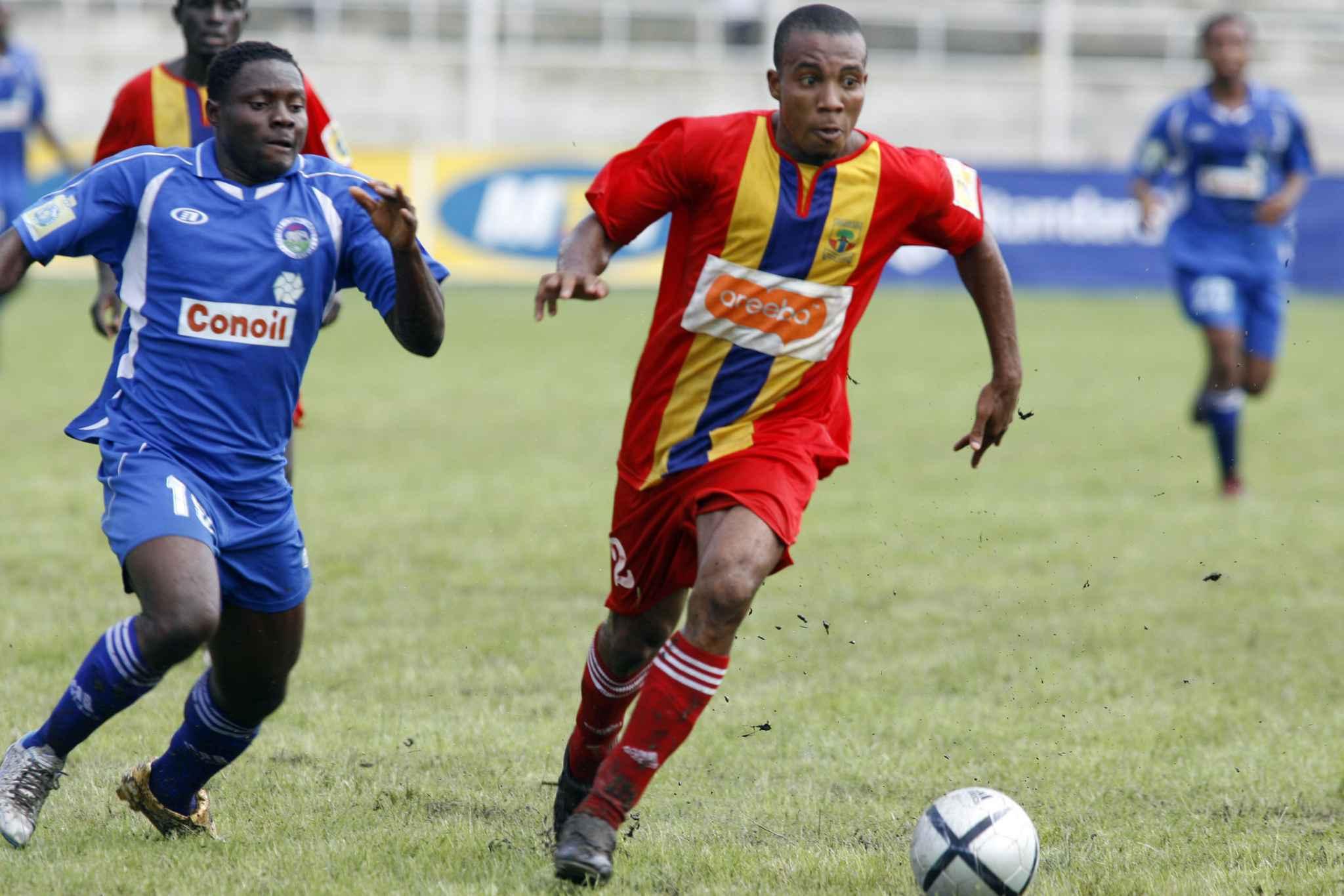 Photo prise lors du championnat au Ghana