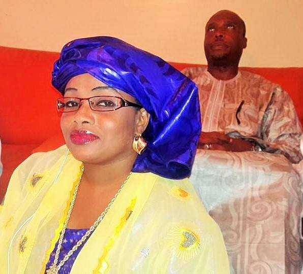Aminata Diallo du Ps en toute élégance