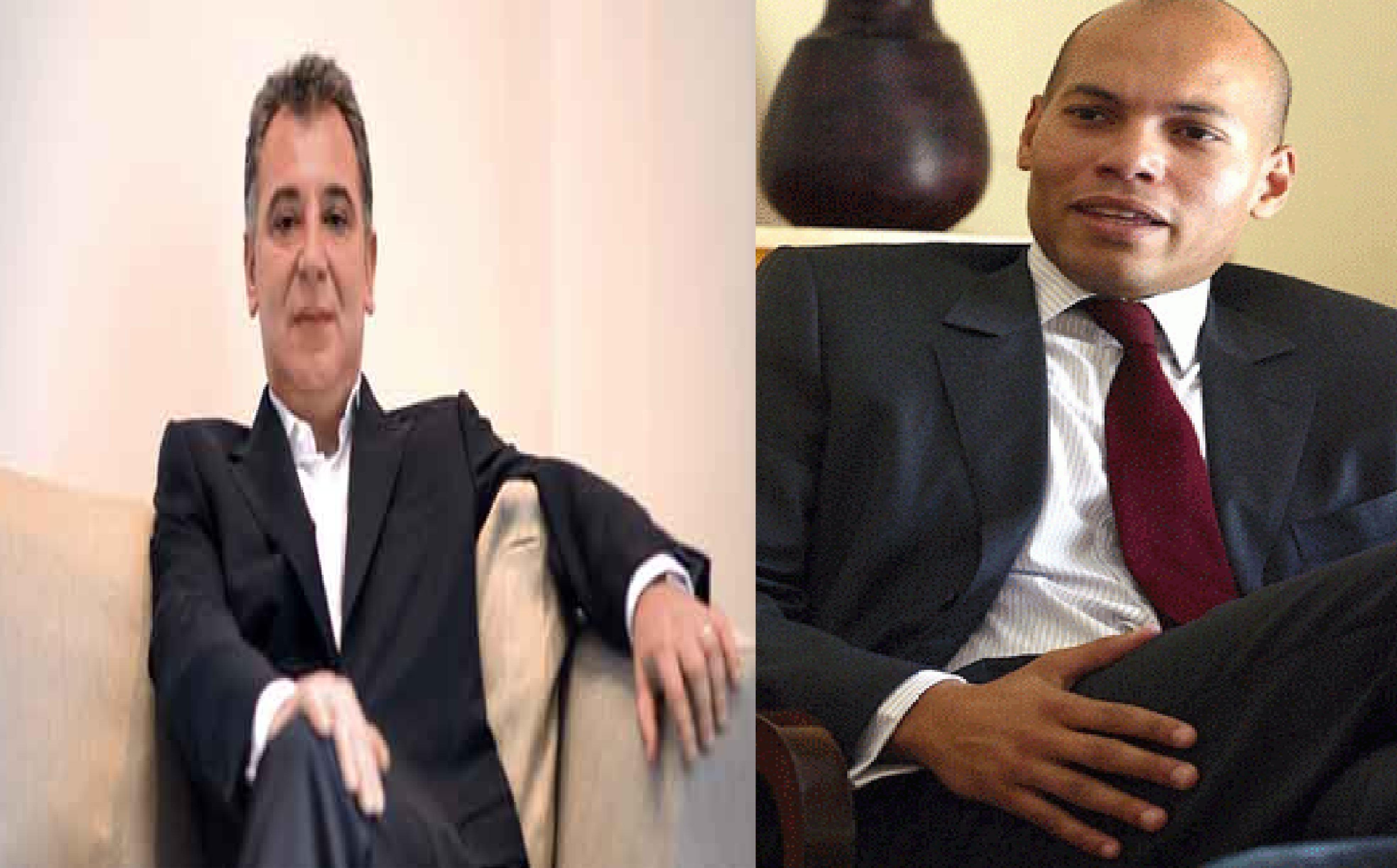 """Frank Timis à Karim Wade : """"Vous êtes un fils à papa, c'est pourquoi vous avez sept ministères"""""""