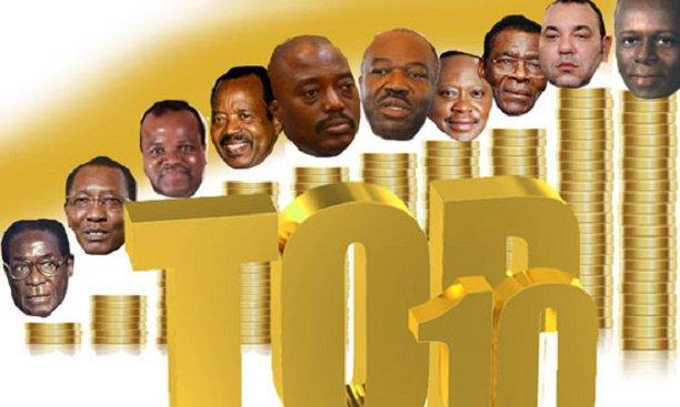 Les Présidents les plus riches d'Afrique en 2016 : Qui est le 1er du Top 10 ?