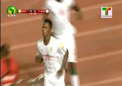 Diao Baldé a marqué dès la 23ème minute pour sa 6ème sélection.