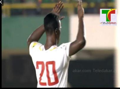 Diao Baldé Keita a sonné la révolte pour les Lions dès la 23ème minute.