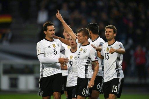08 octobre 2016 - 23H45 Mondial-2018/qualifs: Allemagne et Angleterre au rendez-vous.