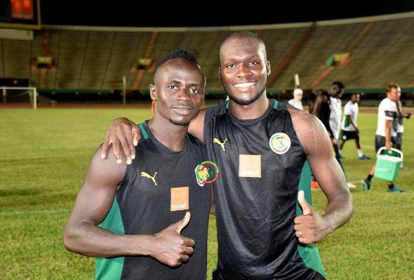 Moussa Sow et Sadio Mané