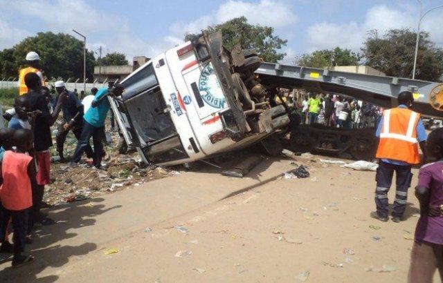 Accident à Richard-Toll: une fille de 7 ans perd la vie et plusieurs blessés enregistrés
