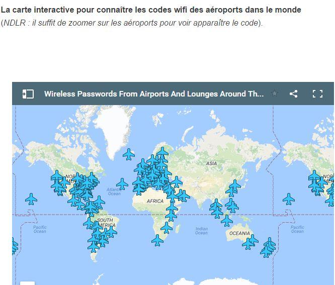 Un ingénieur dévoile les codes wifi de plus d'une centaine d'aéroports dans le monde