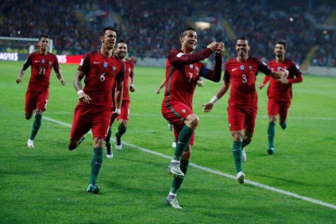 Qualification mondiale Russie 2018: encore un 6-0 pour le Portugal face aux Îles Féroé