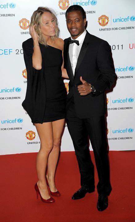 Patrice Evra aime le noir mais aussi le blanc.