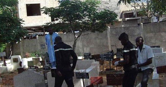 Profanation de tombes au cimetiere de Pikine:  Un  fossoyeur arrêté par la police