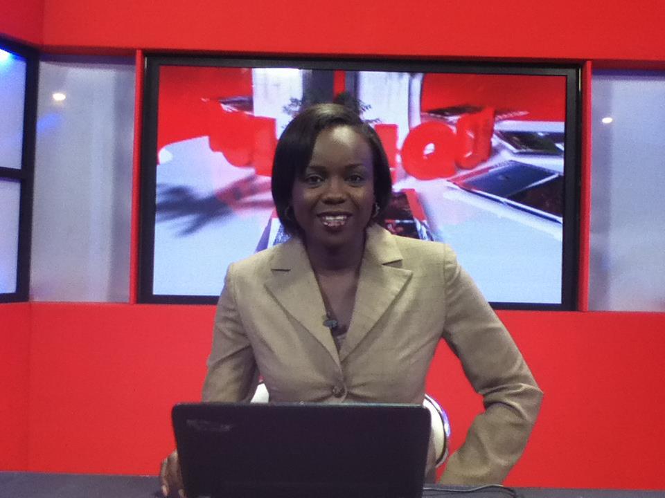 La journaliste Mame Fatou Ndoye