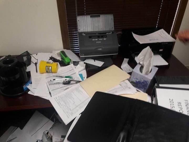 USA: Le bureau de Alioune Guèye qui avait fait les révélations sur Petro-tim, cambriolé (images)