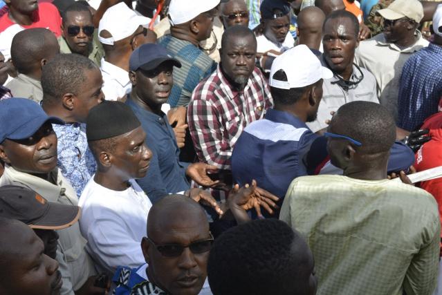 Abdou Mbow : «Cette marche, c'est un échec»