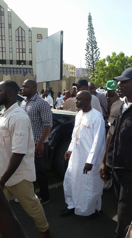 Marche de l'opposition : Barthélemy Dias blessé, Abdoul Mbaye en difficulté, Malick Gackou dans tous ses états