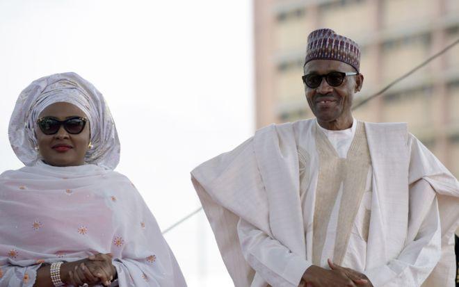 Aisha Buhari et Mahamad Buhari