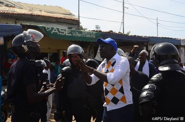 Marche de l'opposition : à Mbacké Mànkoo Wattu Senegal a battu le macadam dans le calme