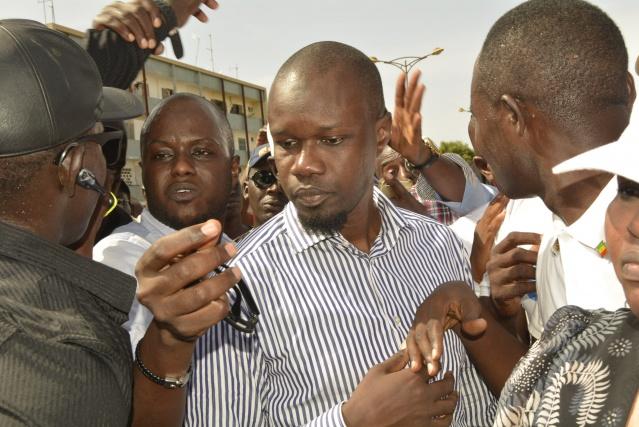 Le président du Pastef Ousmane Sonko
