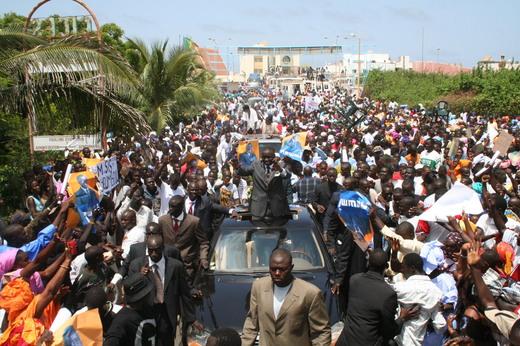 Marche de l'opposition : Kaolack réussit sa marche