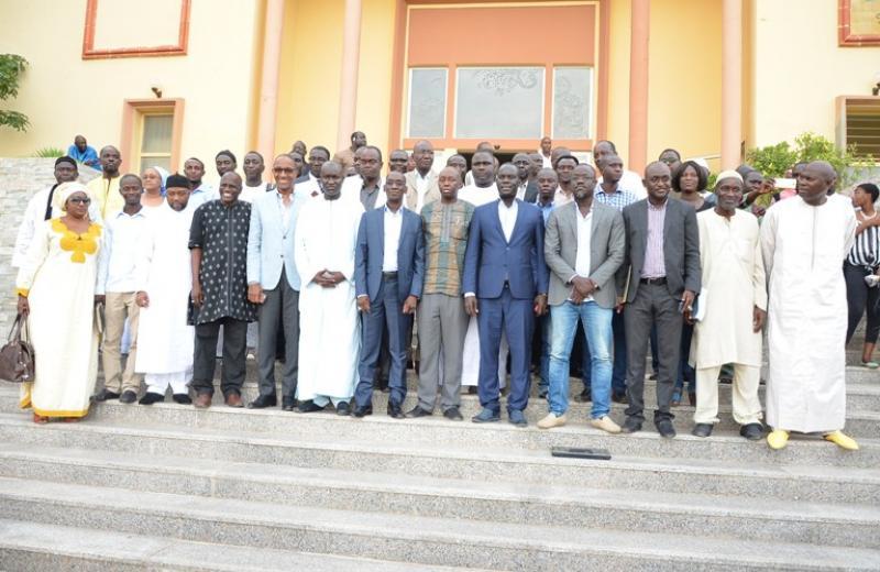 Les leaders du Front pour la défense du Sénégal/Mànkoo Wattu Senegal