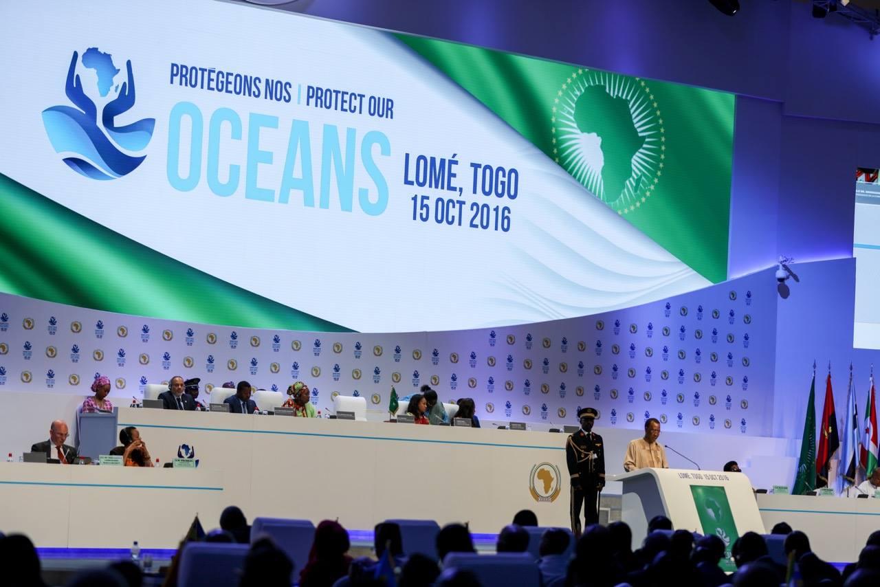 Sommet extraordinaire de l'Union Africaine (UA) du 15 octobre 2016 à Lomé sur la sécurité maritime et le développement en Afrique.