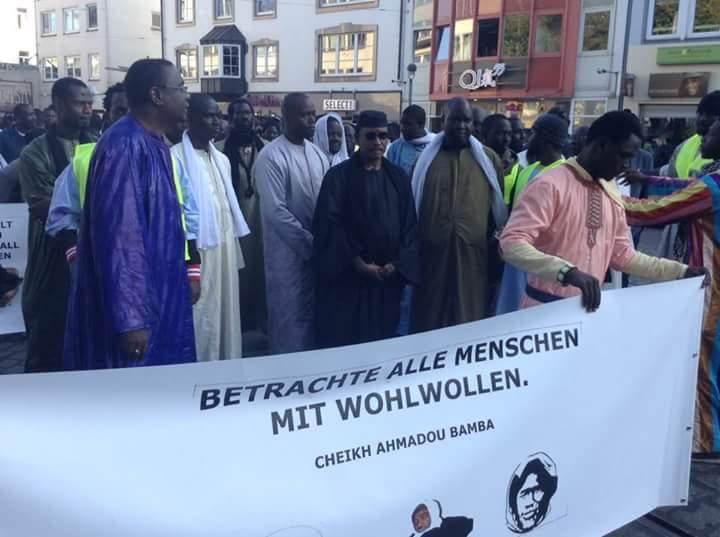 Brême en Allemagne : La communauté mouride célèbre la grandeur de Cheikh Ahmadou Bamba Khadimoul Rassoul