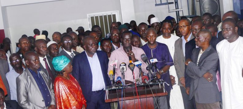 Le front Mankoo Wattu Sénégal