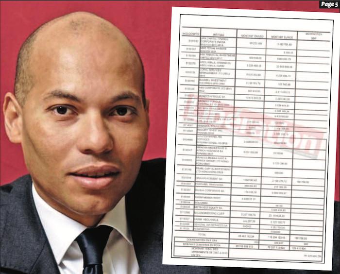Affaire Karim Wade et Cie: L'Etat veut empocher 10 milliards de FCfa à  Monaco