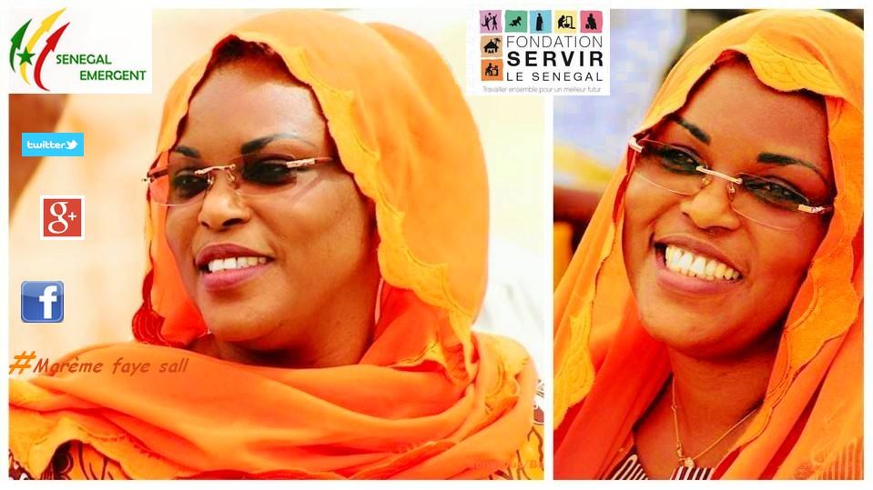 Après Aminata Tall et Mankeur Ndiaye, des escrocs « empruntent » le profil de Marième Faye Sall pour plumer des crédules.
