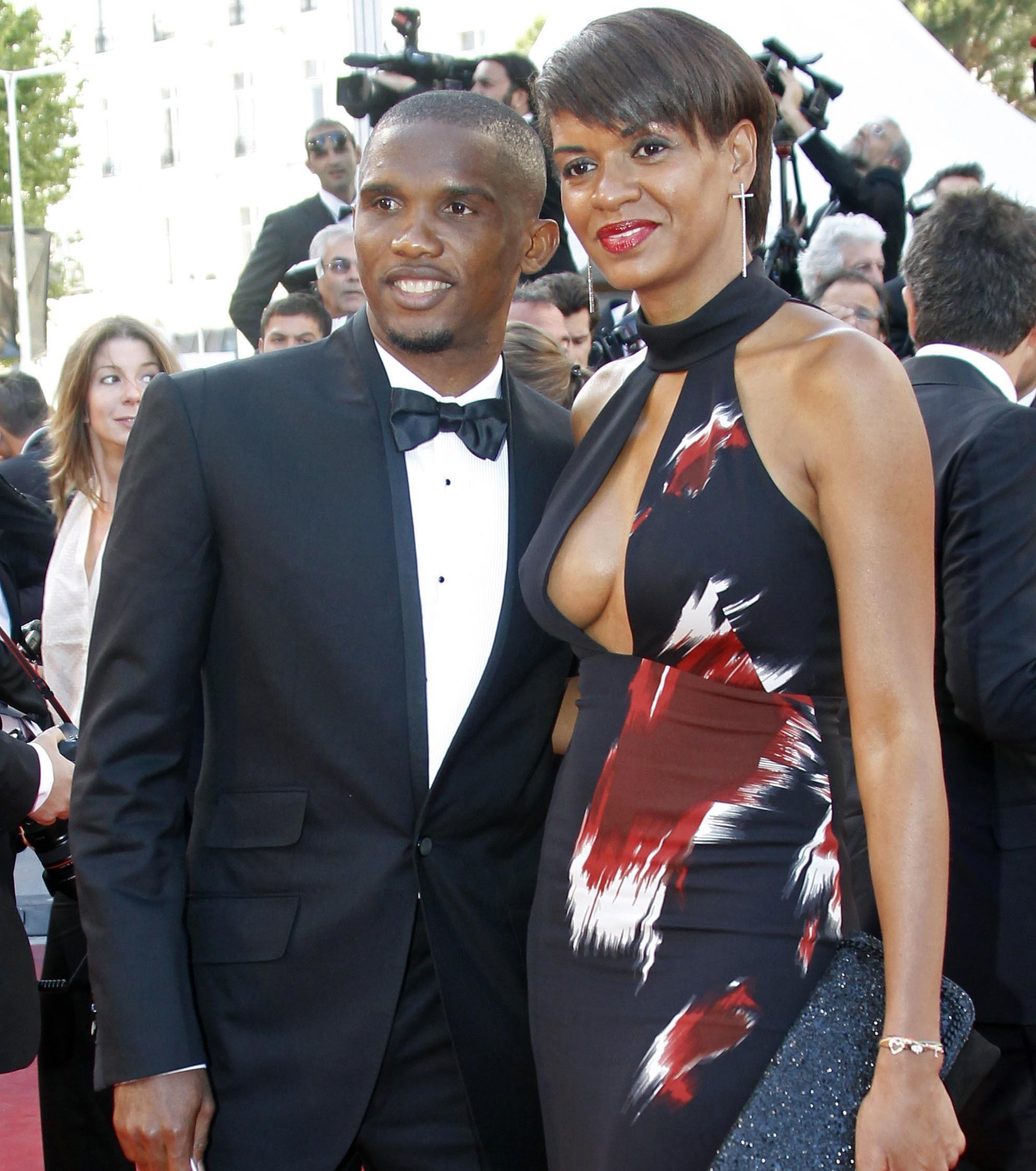 Samuel Eto'o et son ex femme Georgette.