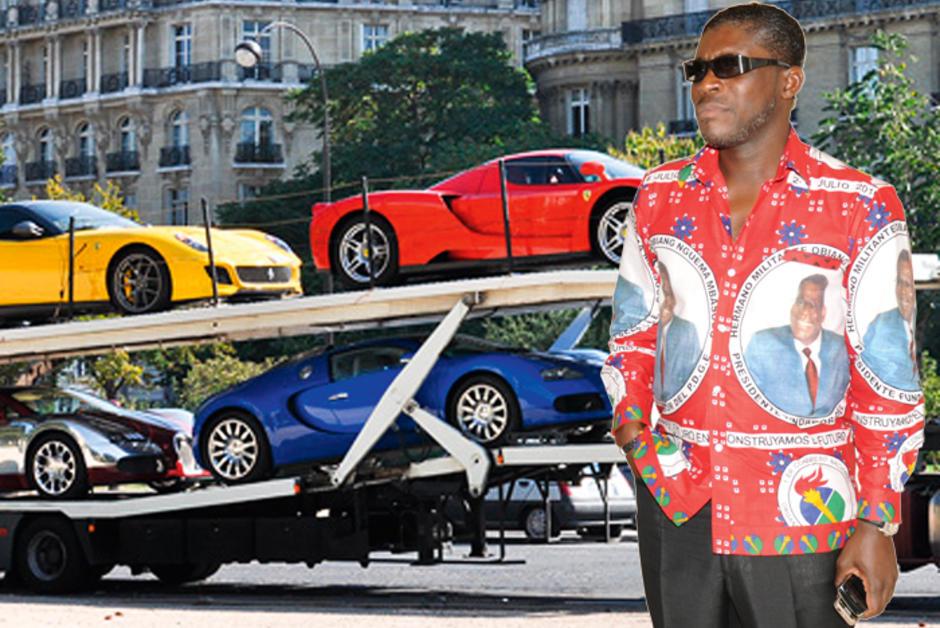 Teodorin Obiang Nguema, le fils du président de la Guinée équatoriale.