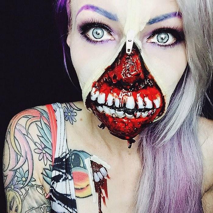 Insolite : Cette femme va vous faire peur, regardez...