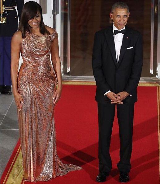 Le couple Obama