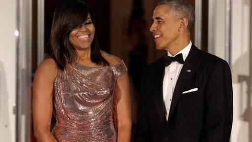 Dernier dîner d'Etat à la Maison Blanche pour Barack Obama