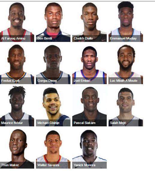 Les Africains à suivre cette saison en NBA qui débute le 25 octobre